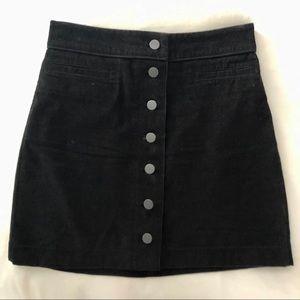 Aritzia | Wilfred Free Karmen skirt black size 4